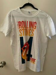 Ultra Rare Rolling Stones Sample T-shirt From Cancelled 2014 Tour - Never Worn