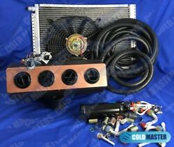A/c-kit Universal Underdash Evaporator Heat And Cool 404-0cb H/c And Elec. Harness