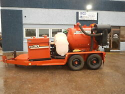 2012 Ditch Witch FX30-500 Gallon Vacuum Excavator Trailer Mounted HydroExcavate