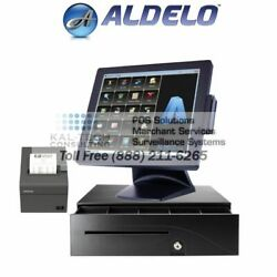 New Aldelo Pro Pizza Restaurant W/delivery Complete Pos System 4gb 5yr Warranry