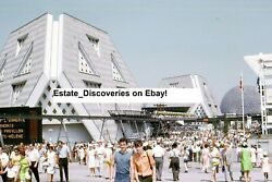 65 Worlds Fair New York Seattle Expo 67 Lot Of Original Photos From Slides On Cd