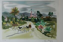 Lithographie Signandeacutee Brayer Yves 17/180 / Litho Signed Brayer Number 17/180