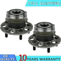 2 Rear Wheel Bearing Hub Assembly For 2007 2008 -2011 Honda Cr-v Acura Rdx 4wd