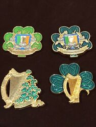 MSG Det Marine Security Guard Detachment Ireland Challenge Coin 4 Coin Lot