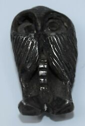 Cast Sterling Silver Owl Pin, Brooch Attributed To Allan Houser, Old And Heavy