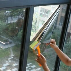 Mirror Window Tinting Film Silver35 Mirrored Privacy Glass Solar Reflective