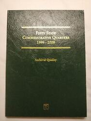 Fifty State Commemorative Quarters Book 1999-2008