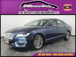 2017 Lincoln MKZZephyr Select EcoBoost FWD Off Lease Only 2017 Lincoln MKZ Select EcoBoost FWD Intercooled Turbo Premium Un