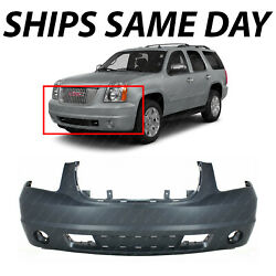 New Primered - Front Bumper Cover Replacement For 2007-2014 Gmc Yukon Suv 07-14