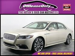 2017 Lincoln Continental Select FWD Off Lease Only 2017 Lincoln Continental Select FWD Premium Unleaded V-6 3.7 L22