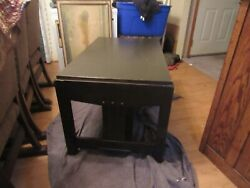 Mission Arts And Crafts C 1910 Oak Library Table, 26 X 42x 24 High