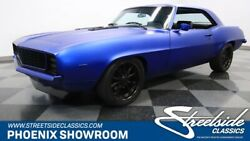 1969 Chevrolet Camaro RS Restomod V8 Auto Matte Blue Black Chevy Classic Vintage Collector Rally Sport Custom Rest
