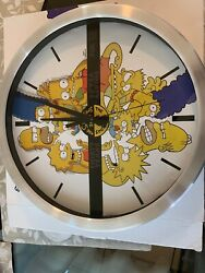 The Simpsons Thirty Years Wall Clock