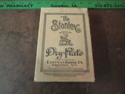Nos Antique Photography The Stanley Dry Plates Box Of Sealed New Old Stock Rare
