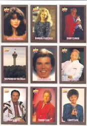 1992 Branson On Stage Complete Basic Trading Card Set Country Singers
