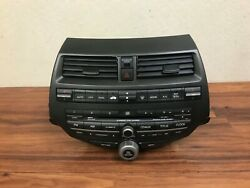 HONDA ACCORD OEM FRONT RADIO AM FM MP3 6 DISC CD CHANGER PLAYER SYSTEM 2008-2012