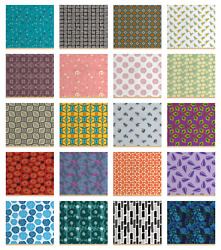 Ambesonne Abstract Design Fabric By The Yard Decorative Upholstery Home Accents