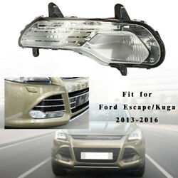 Right Front Bumper Fog Light Without Bulb Parts For 2013-2016 Ford Escape Kuga