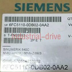 1pc Used Siemens 6fc5110-0db02-0aa4 Tested It In Good Fast Delivery