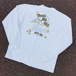 RARE 1994 10000 Maniacs These Are Days Long Sleeve T-shirt Hanes Mens Large