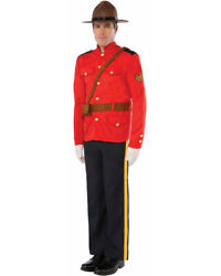 Canadian Mountie Mens Costume Size STD