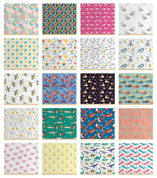 Ambesonne Nursery Theme Fabric By The Yard Decorative Upholstery Home Accents