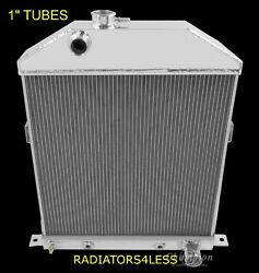 Champion 2 Row Aluminum Radiator 42 43 44 45 46 47 48 Ford Coupe Cars Chevy Eng