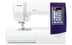 Janome Memory Craft 9850 Sewing And Embroidery Machine + Deluxe Bonus Package