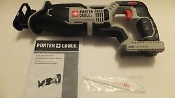 Porter Cable Pcc670 20v Max Lithium Reciprocating Saw Tool Only New