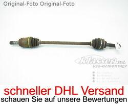 Drive Shaft Rear For Subaru Forester Sg 2.0 116 Kw 158 Ps