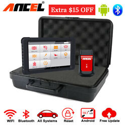 Automotive Obd2 Bluetooth Diagnostic Tools Full System Scanner Abs Srs Oil Reset