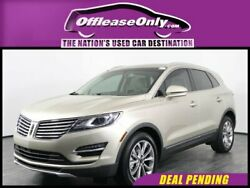 2017 Lincoln MKC Select EcoBoost FWD Off Lease Only 2017 Lincoln MKC Select EcoBoost FWD Intercooled Turbo Premium Un