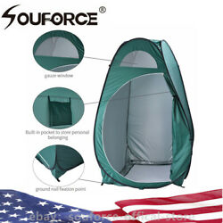 Portable Outdoor Camping Pop-up Toilet Dressing Folding Privacy Shelter Tent