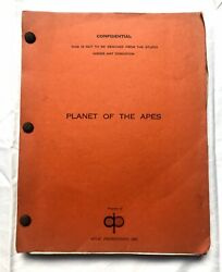 PLANET OF THE APES Screenplay Rod Serling 1965 -  Hollywood memorabilia