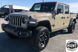 2020 Jeep Gladiator Rubicon 2020 Jeep Gladiator Rubicon 10 Miles Gobi Clearcoat Crew Cab Pickup Regular Unle