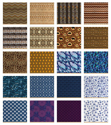 Ambesonne Polyester Fabric By The Yard Upholstery Home Accents Decor