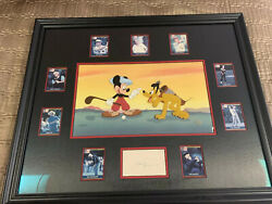 Disney Canine Caddy Mickey Mouse Golf Signed By Jack Nicklaus