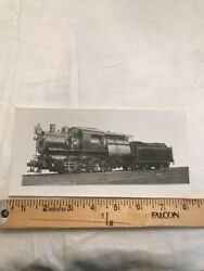 Vintage Crr Of Nj New Jersey Central Railroad Engine 277 Photo Picture Train