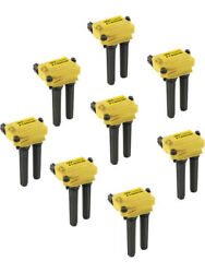 Accel Ignition Coil Pack Super Coil Coil-on-plug 33000v Yellow Moparandhellip 140038-8