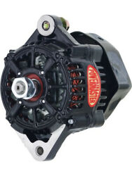 Powermaster Alternator Denso Style Race 75 Amp 12v 1-wire No Pulley Blac… 8163