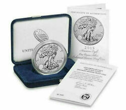 2019 S American Eagle One Ounce Silver Enhanced Reverse Proof Coin Sealed Unopen