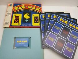 Vtg 1982 Pac-man Board Game Cards Complete Pac Man Ages 8-14 For 2 To 4 Players