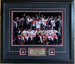 Toronto Raptors 2019 Nba Champions Team Celebration 16x20 Picture Framed Pins