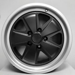 Fuchs Wheel For Porsche 18 X 10 Black Face Et 40