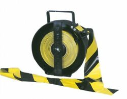 Accuform Portable Barricade Tape Dispenser, Mpt913, New, Free Shipping