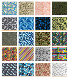 Waterproof Fabric By The Yard Decor Upholstery Home Accents By Ambesonne