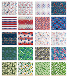 Ambesonne Tight Woven Fabric By The Yard Decorative Upholstery Home Accents