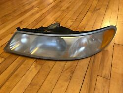 1998 2000 2002 98-02 CONTINENTAL LEFT HEADLIGHT HAS WEAR OEM USED DRIVER SIDE
