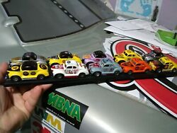 Tyco/Hp-7  Custom 10 Slot Car Lot All Run From My Personal collection BIG-O Slot