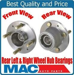 Ap New Rear Left And Right Wheel Hub Bearings For Chevrolet Aveo With Abs 04-11